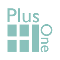 Plus One Strategic Communications Logo