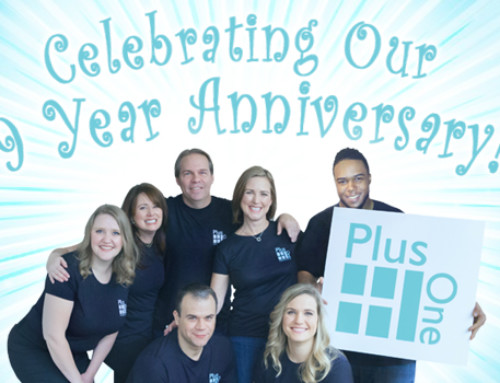 Plus One Celebrates 9 Years in Business