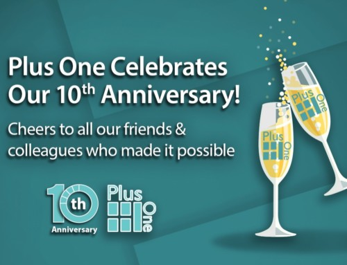 Raising a Glass to Celebrate Plus One's 10th Anniversary